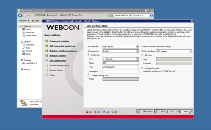 WEBCON BPS: STEP BY STEP INSTALLATION