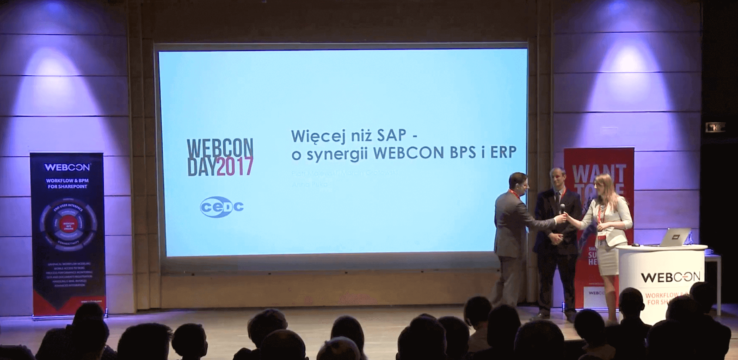 MORE THAN SAP – THE SYNERGY OF WEBCON BPS AND ERP