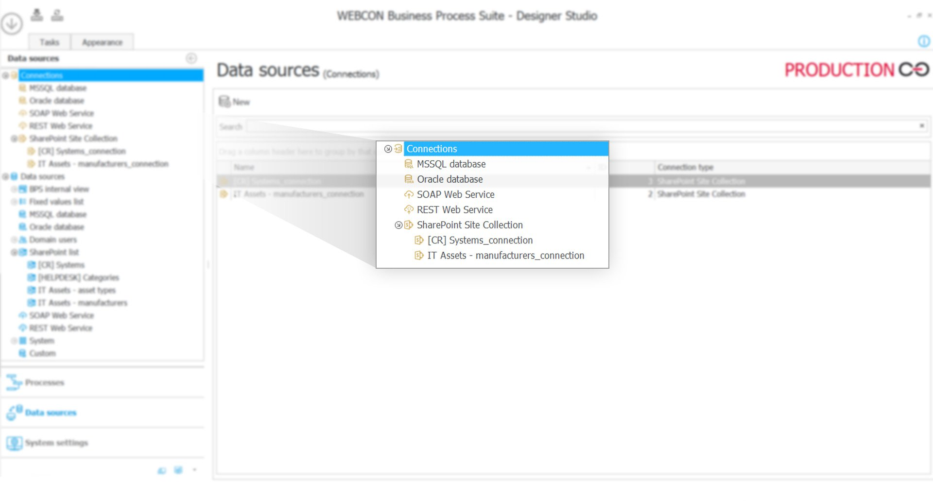 WEBCON BPS integration