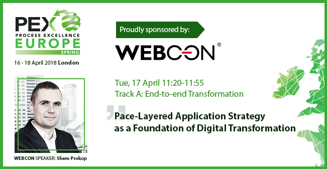 Pace Layered Application Strategy as a foundation of Digital Transformation