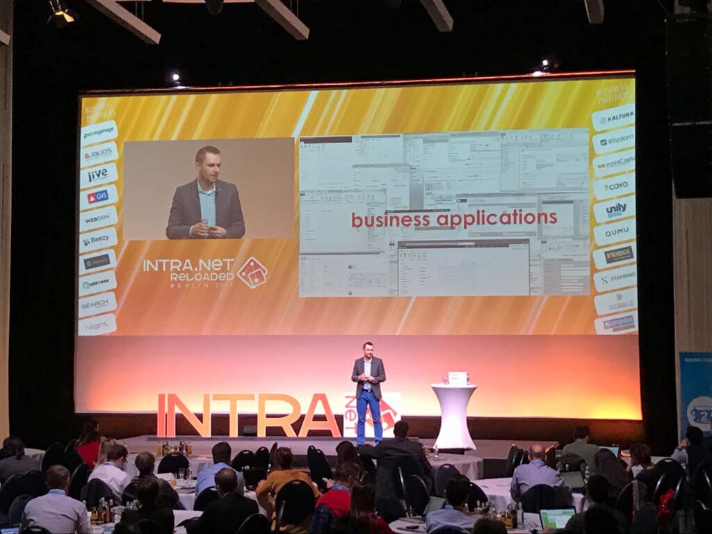 WEBCO BPM presentation at Intra.NET Reloaded Berlin 2017