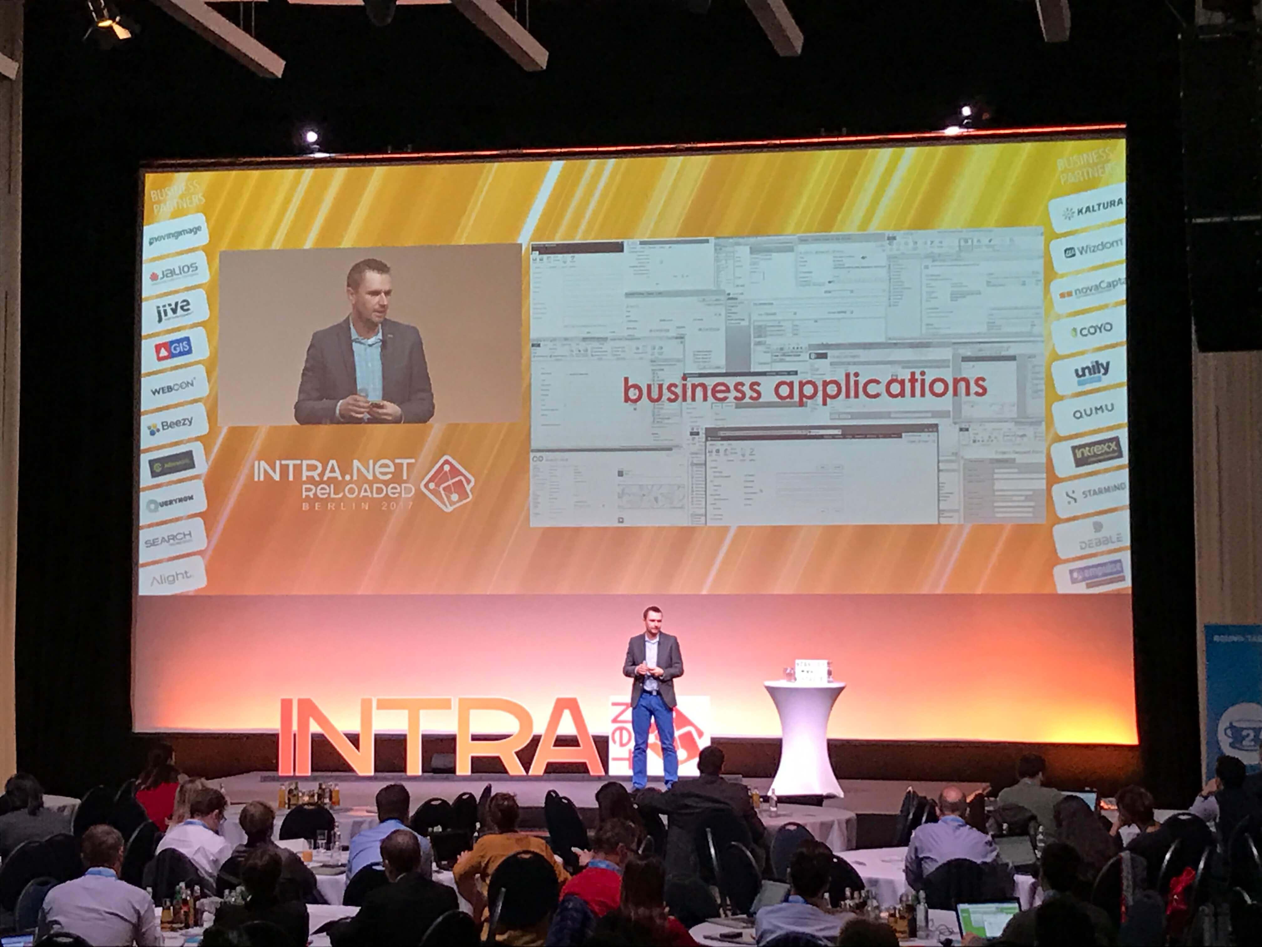 WEBCO BPM presentation at Intra.NET Reloaded Berlin 2017