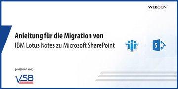Anwendungsmigration von Lotus Notes in SharePoint