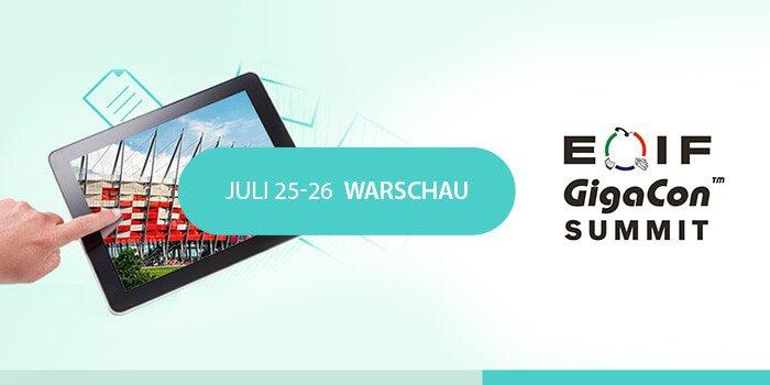 EOIF GigaCon 2018 - Polens größter Konferenz über digitale Dokumenten-Workflows und Geschäftsprozess