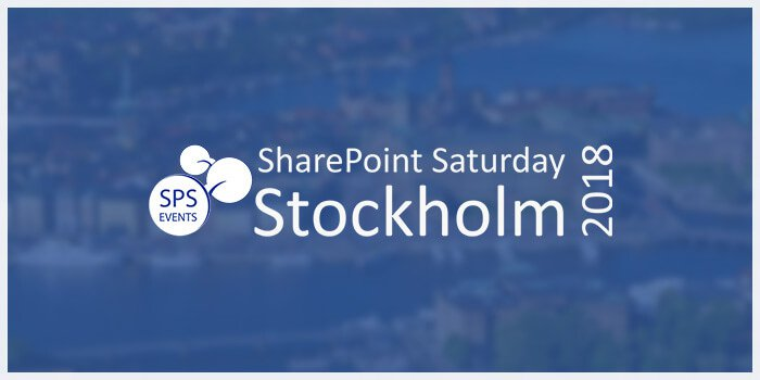 SharePoint Saturday Stockholm