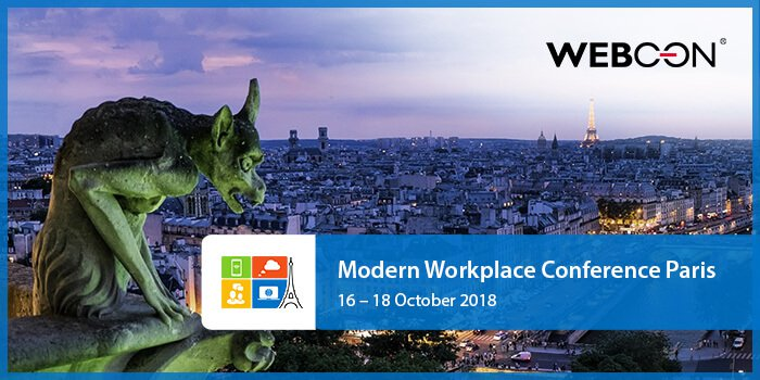 Modern Workplace Conference in Paris