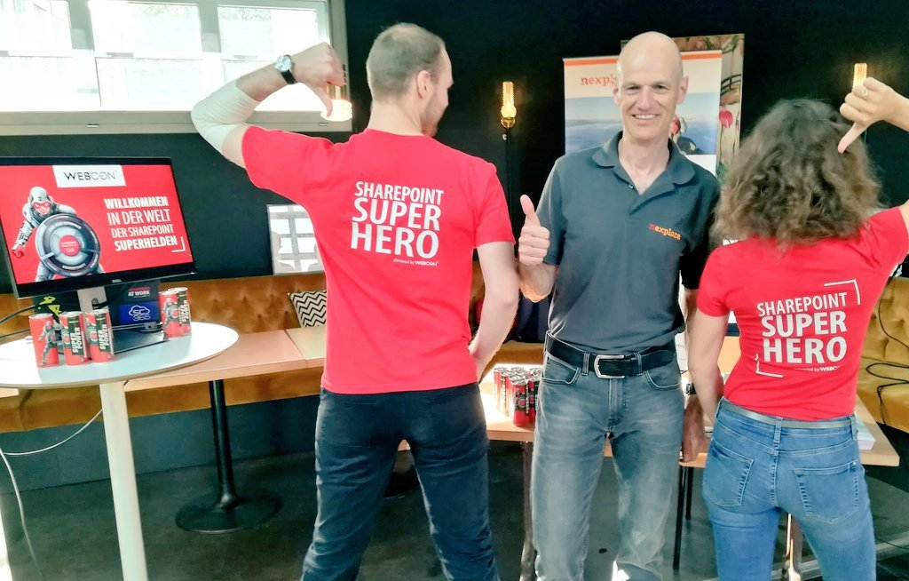 Sharepoint Superhero T-shrits