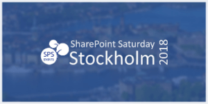 SharePoint Saturday Stockholm Conference