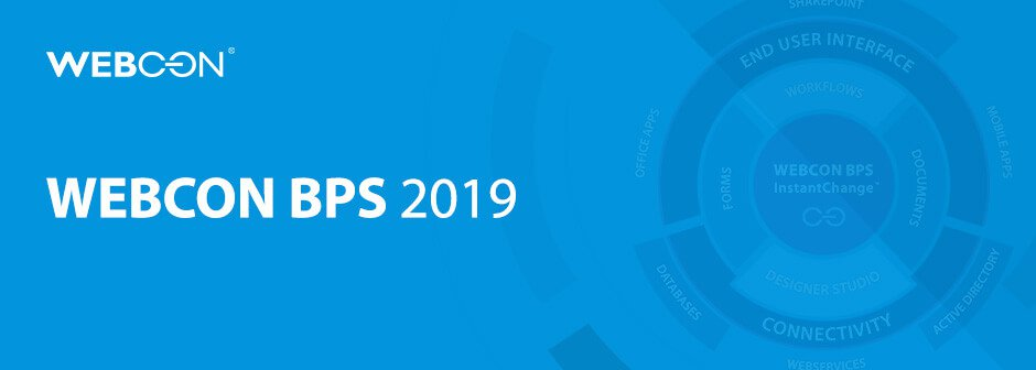 WEBCON BPS 2019 splash