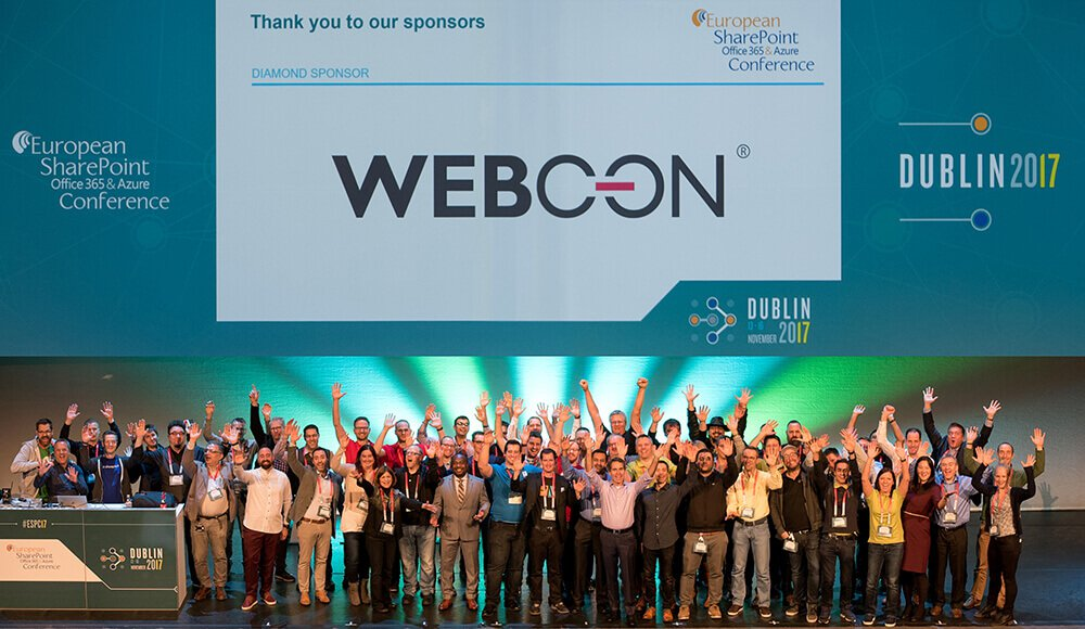 ESPC 2017 Dublin WEBCON team
