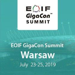 EOIF GigaCon Summit Warsaw 2019