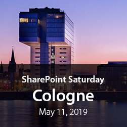SharePoint Saturday Cologne 2019