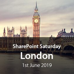 SharePoint Saturday London 2019