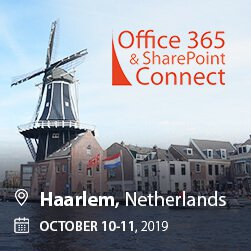 Office 365 & SharePoint Connect 2019 Haarlem