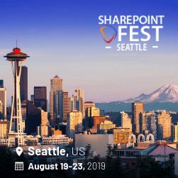 SharePoint Fest Seattle 2019