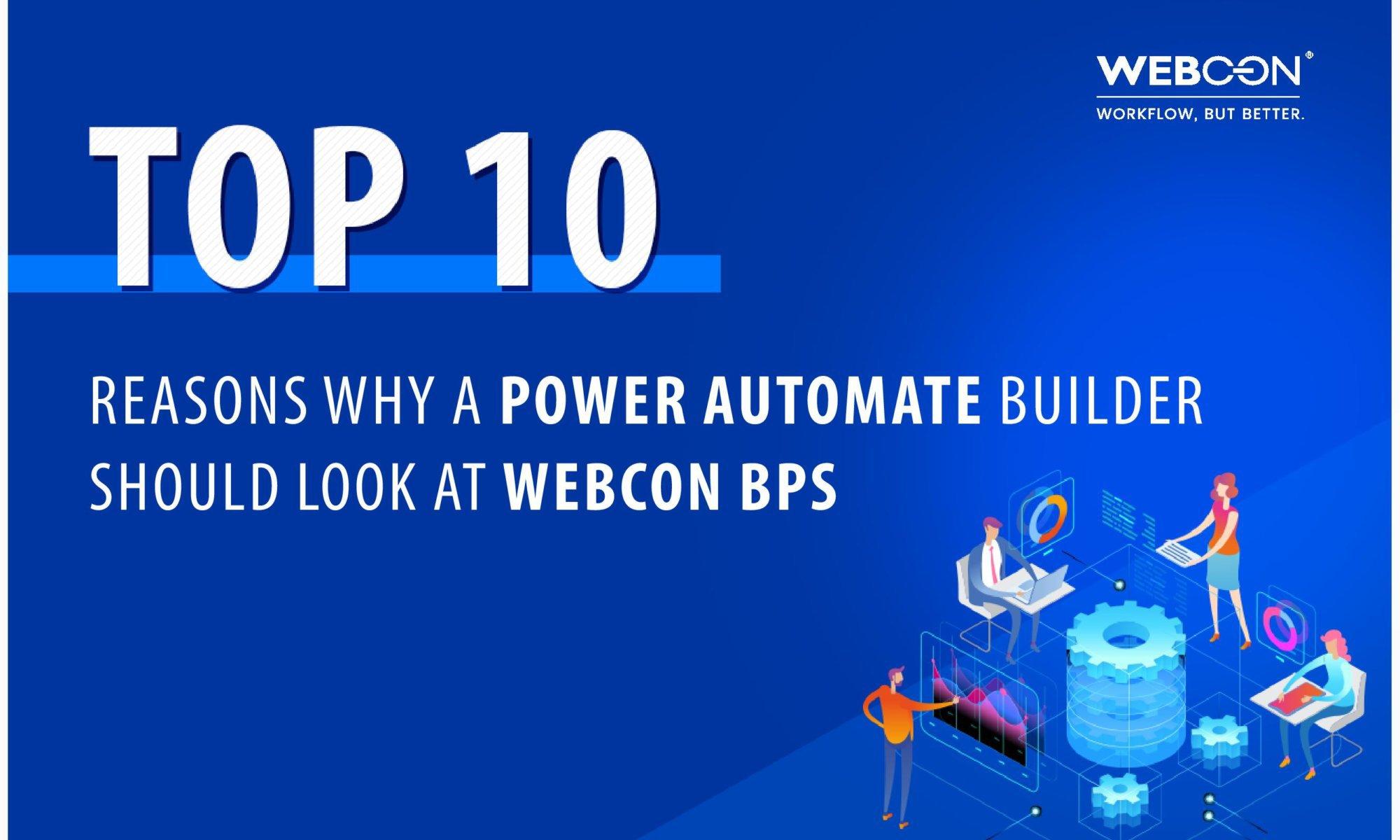 power automate ms flow vs webcon bps whitepaper