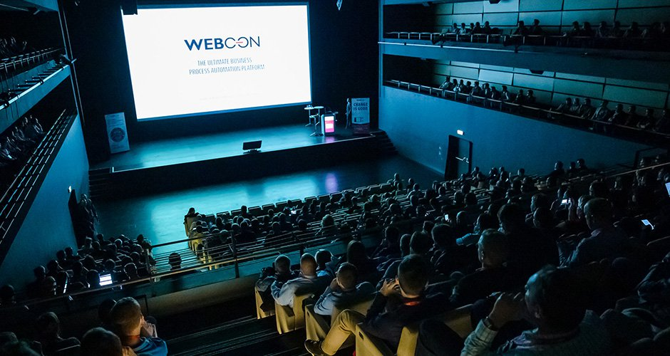 WEBCON DAY at ICE Krakow