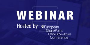 WEBCON's webinar at ESPC: Stage-Based Workflows: A Better Way To Model and Manage Processes