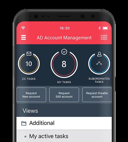 Mobile applications dahsboard in WEBCON BPS