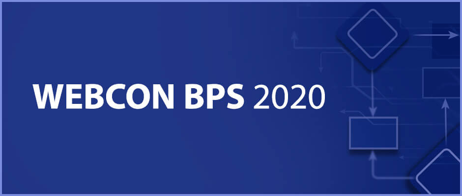 WEBCON BPS 2020 new release
