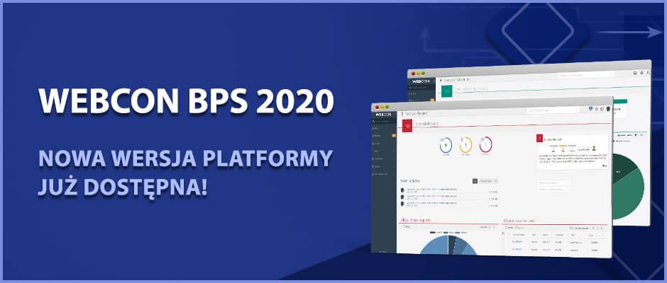 WEBCON BPS 2020 artykuł premierowy