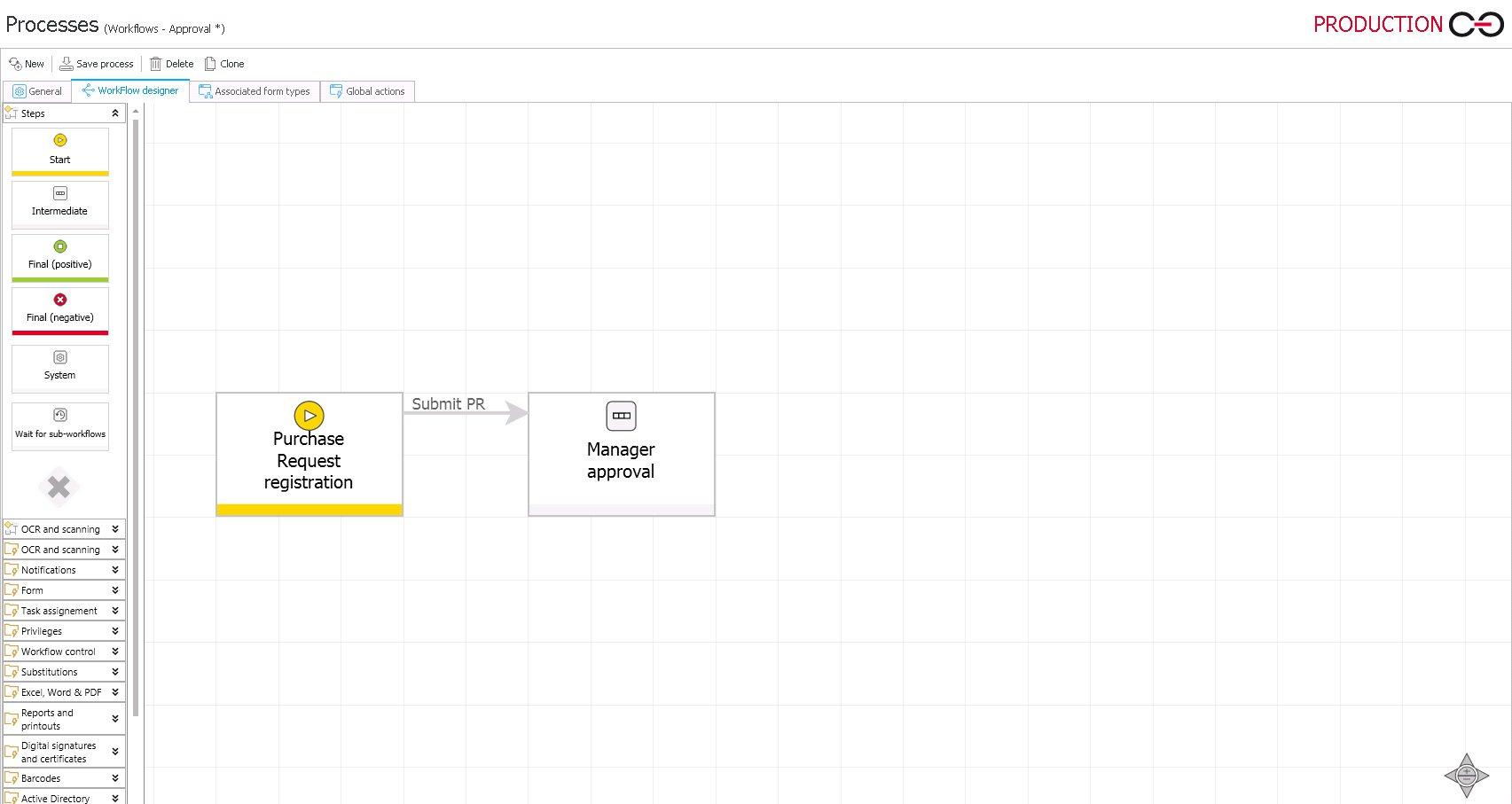 building apps in webcon bps designer studio