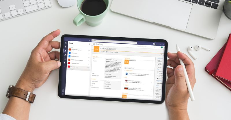 Maximizing collaboration with Microsoft Teams and business applications