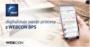 mddp outsourcing digitalizuje procesy z webcon bps