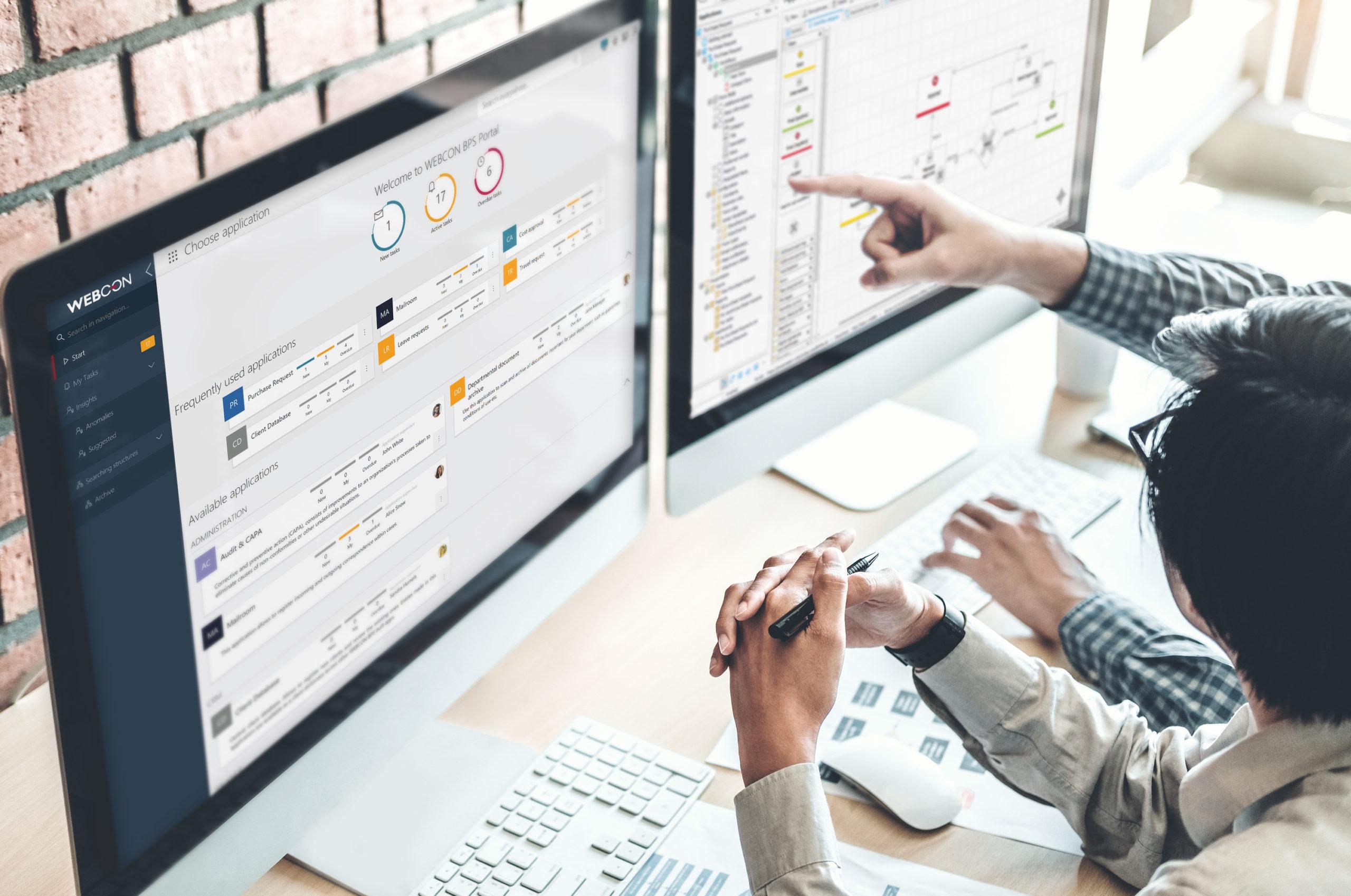 WEBCON BPS monitor desktop designer